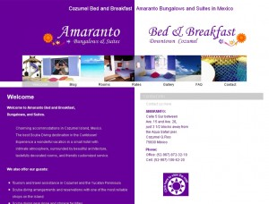 Amaranto Cozumel Bed and Breakfast